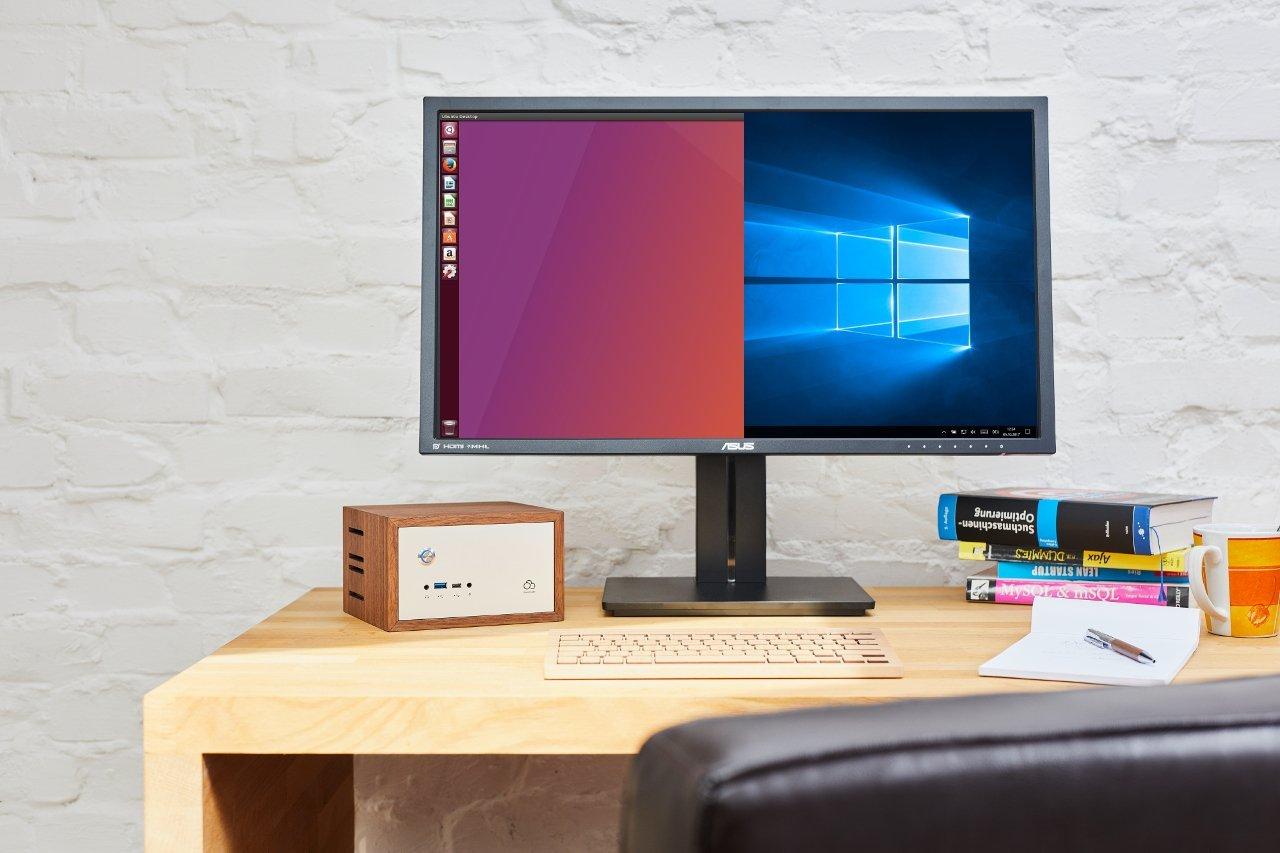 Buddy ist ein Dual Boot System und bietet mit seinem Linux Betriebssystem optimalen Schutz gegen Schadsoftware