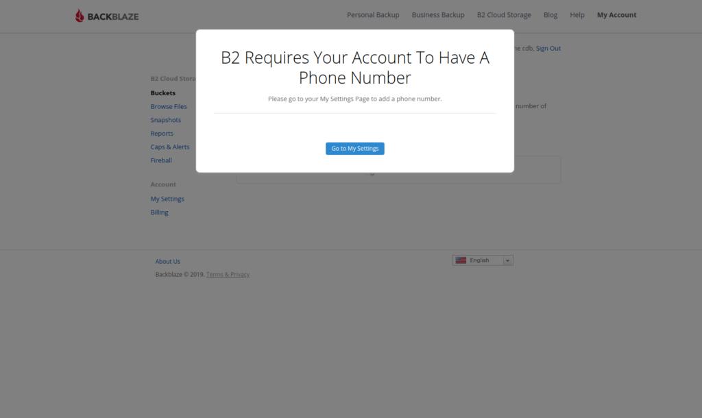 Registrierung der Telefonnummer